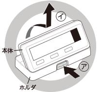 ○ ホルダ 本体 ア イ