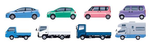 1台目のお車の用途車種が自家用8車種であること